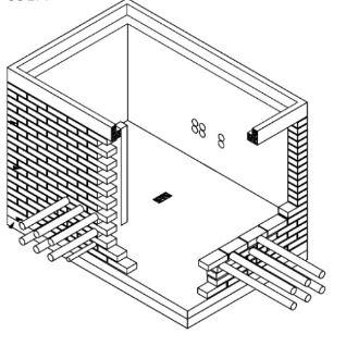 Esoinsas- caja de inspección doble para canalización de M.T Y B.T CS276